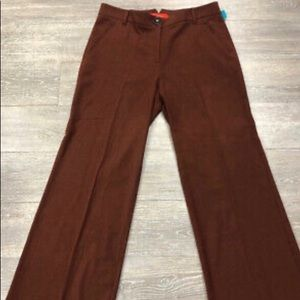 Anthropologie Cartonnier Trousers in Oxblood